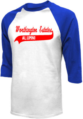 Worthington Estates Elementary School Raglan Shirts