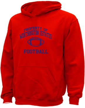 Worthington Estates Elementary School Kid Hooded Sweatshirts