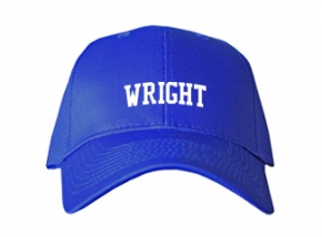 Wright Elementary School Kid Embroidered Baseball Caps