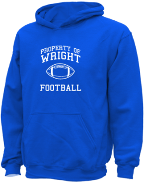 Wright Elementary School Kid Hooded Sweatshirts