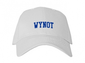 Wynot High School Kid Embroidered Baseball Caps