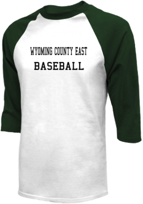 Wyoming County East High School Raglan Shirts