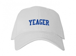 Yeager Middle School Kid Embroidered Baseball Caps