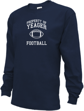 Yeager Middle School Kid Long Sleeve Shirts
