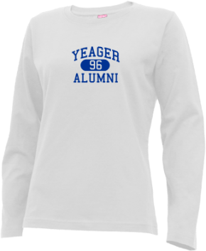 Yeager Middle School Long Sleeve Shirts