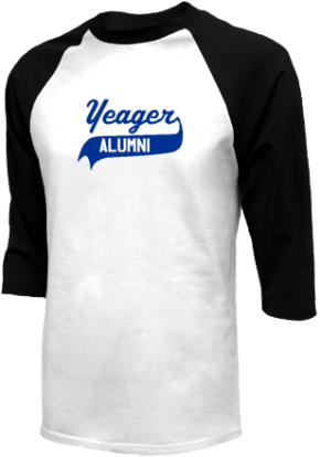 Yeager Middle School Raglan Shirts