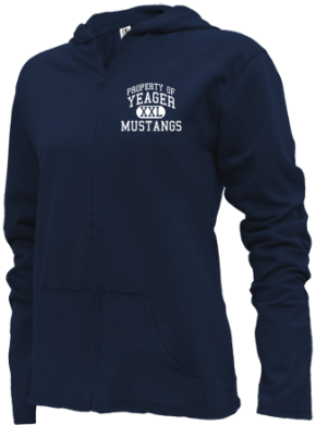 Yeager Middle School Girls Zipper Hoodies