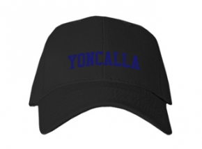 Yoncalla High School Kid Embroidered Baseball Caps