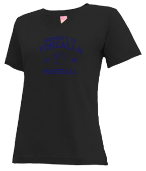 Yoncalla High School V-neck Shirts