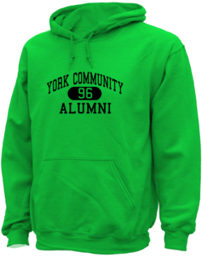 York Community High School Hoodies