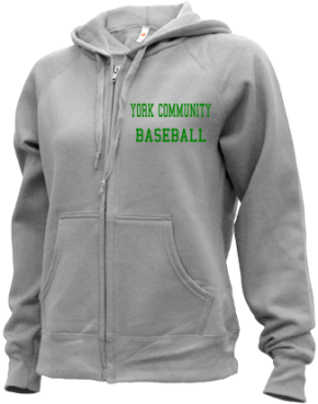 York Community High School Zip-up Hoodies
