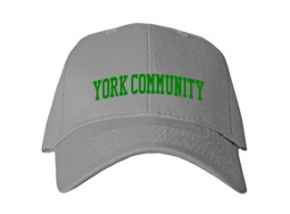 York Community High School Kid Embroidered Baseball Caps