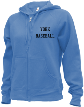York High School Zip-up Hoodies