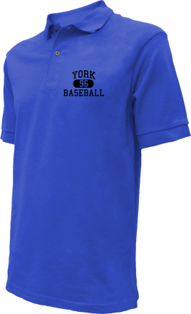 York High School Embroidered Polo Shirts