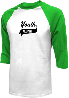 Youth Middle School Raglan Shirts