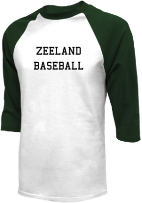 Zeeland High School Raglan Shirts