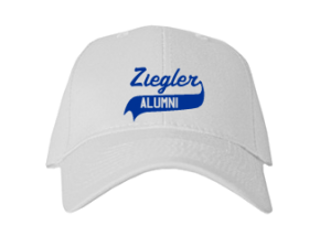 Ziegler Elementary School Embroidered Baseball Caps