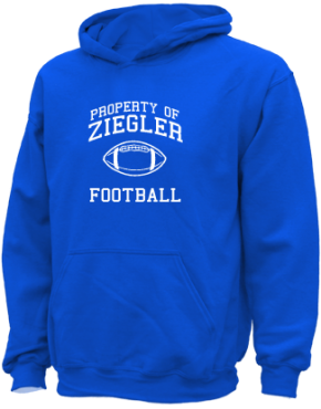 Ziegler Elementary School Kid Hooded Sweatshirts