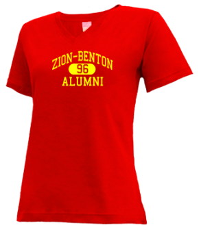 Zion-benton High School V-neck Shirts